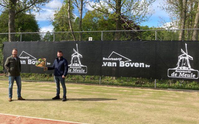 Nieuwe sponsor: Bouwbedrijf Van Boven | Bouwmarkt De Meule